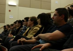 Telecom graduate students attend IAM.