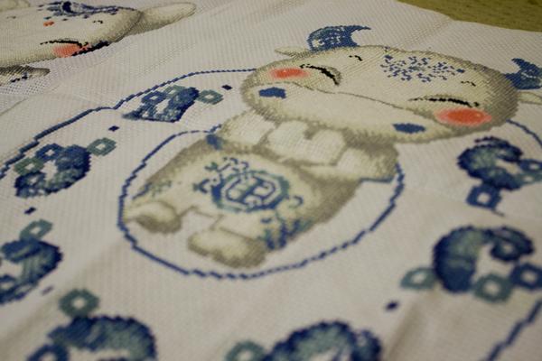 Embroidery by Yanyan.