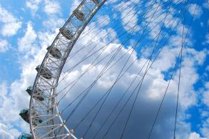 The London Eye. Photo courtesy of Susan Kelly.