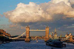 The Tower Bridge in London. Photo courtesy of Susan Kelly.