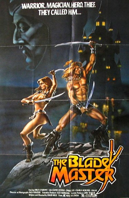 """The Blademaster"" is one of the many English titles of ""Cave Dwellers"", a film skewered by MST3K."