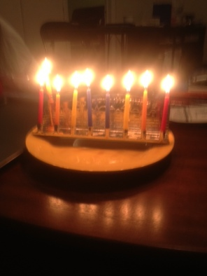 """Hannukah 2012""- Submitted by Edo Steinberg"