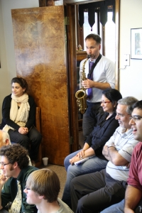 Norbert saxophone pic