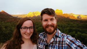 Honemooning in Sedona, Arizona
