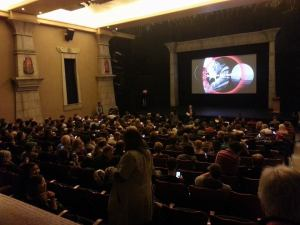 One of the screenings during the Sundance Film Festival.
