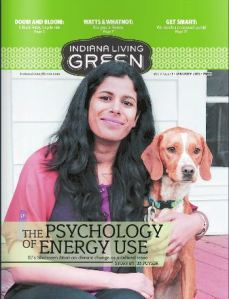 Dr. Attari was interviewed by Indiana Green Living magazine (2013) about her research on energy and water consumption.