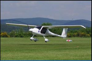 A side view of the small plane (Photo credit to Indy Sky Sports Website)